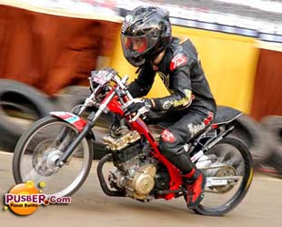 Foto Motor Drag Indonesia Dan Video Pusber Ninja