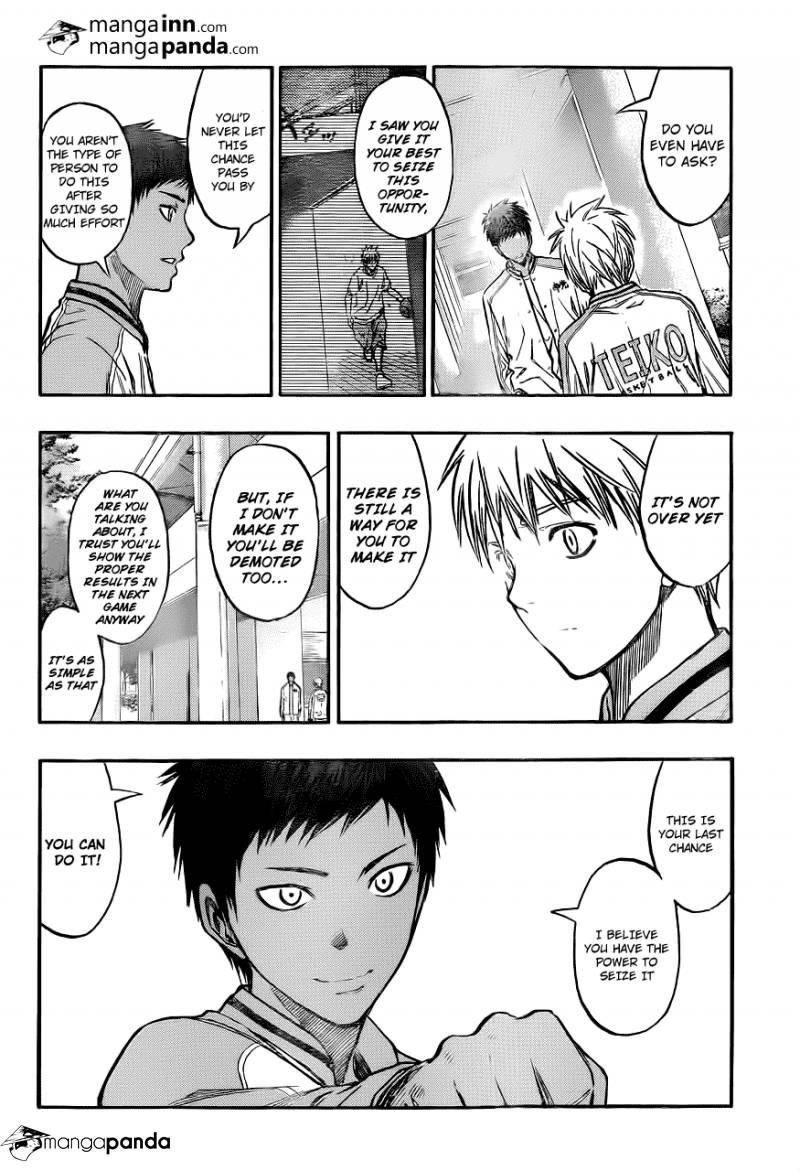 Kuroko no Basket Manga Chapter 209 - Image 08