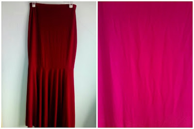 Skirt Mermaid Maroon