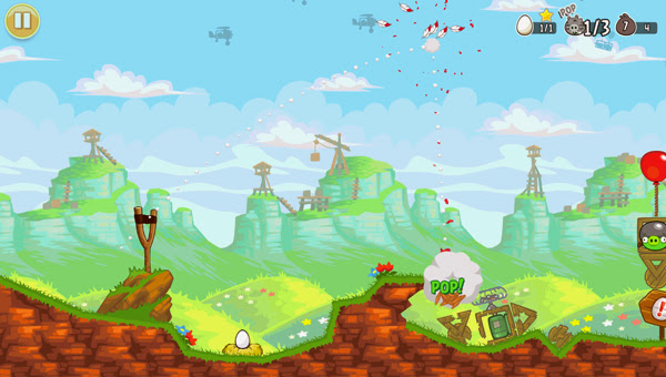 Angry Birds ra mắt phiên bản Red's Mighty Feathers 6