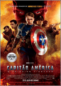 Download Capitão América O Primeiro Vingador AVI Dual Áudio RMVB Dublado