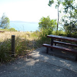 Picnic table near upper lookout Sea Eagle Picnic Area (402643)