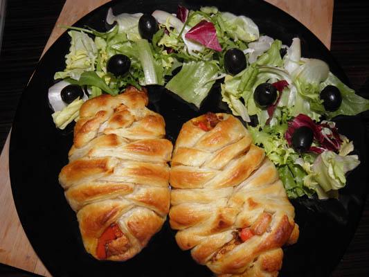 piersi z kurczaka w cieście francuskim
