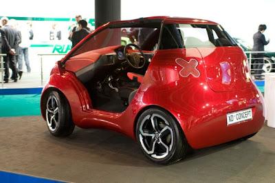 Хорватский электромобиль XD Concept