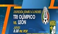 Mexico seleccion olimpica Leon amistoso 5 Julio