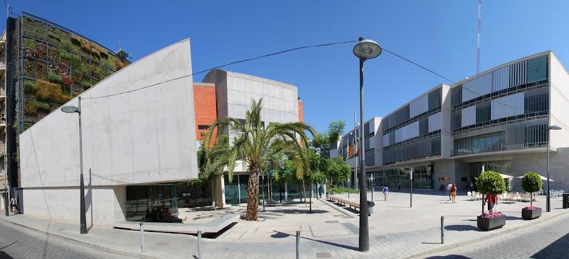 Jardín vertical San Vicente.