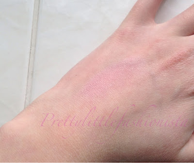 Dainty Doll- My Girl Blush Swatch