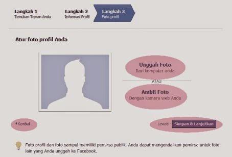 Cara mudah ganti photo profil fb lewat Hp