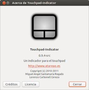 Touchpad-Indicator en Ubuntu Raring Ringtail