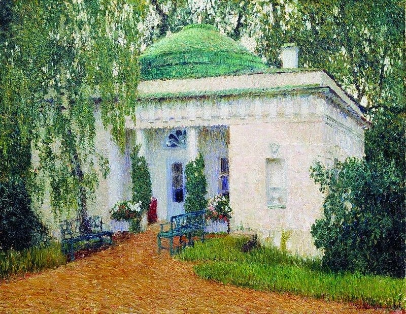 Igor Grabar - Pavilion in Kuzminki