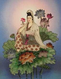 Goddess Guan Yin Image