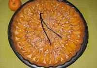 Tarte aux abricots et aux dragées - recette indexée dans les Desserts