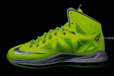 nike lebron 10 gr atomic volt dunkman 2 03 Finally a Decent Look at Nike LeBron X Volt Dunkman!