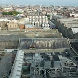 """Kig ud over bryggeriet fra """"Guinness Sky bar"""""""