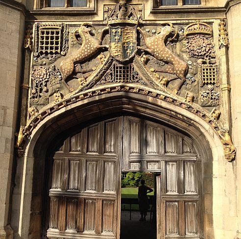 Entrance Christ's College, South Court, St Andrew St, 1505-11, Cambridge