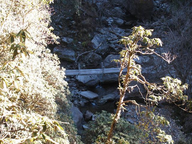 bridge over the little bit of water