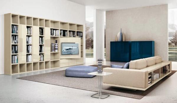 Model 2 desain ruang tamu rumah minimalis kontemporer 2015