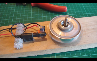 Reed Switch Motor Running