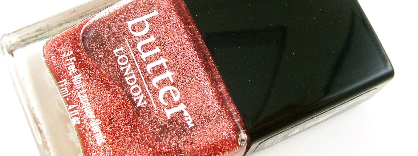 Butter London in Rosie Lee - Review, Photo, Swatches