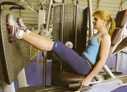 exercícios para glúteos - leg press