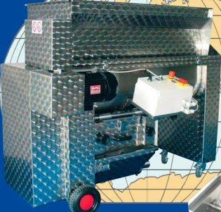 Επαγγελματικός Απορογιτής-διαχωριστήρας (απορραγιστήριο-αποβοστρυχωτήριο-εκραγιστήριο-θλιπτήριο) Enoitalia τύπου Jolly 60/MV