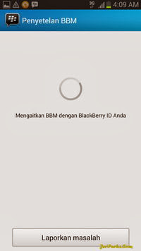 Proses Sinkronisasi dan Penyetelan BBM For Android