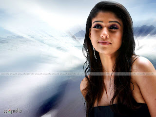 South Indian Actress Nayanthara Hairstyle Pictures