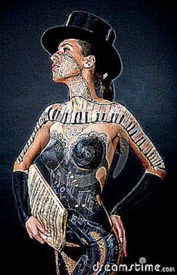 girl body art 8236225