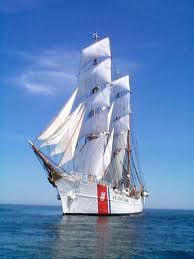 The U.S. Coast Guard Cutter Barque Eagle