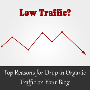 Alasan Jatuhnya Trafik Organik di Blog Anda