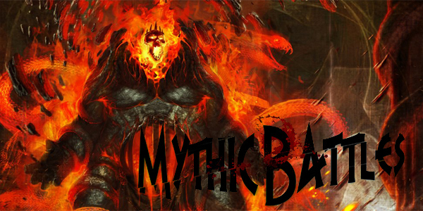 Mythic Battles boardgame