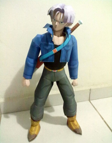 Dragon Ball Trunks Papercraft