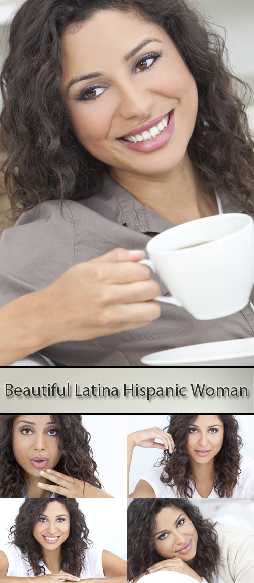Stock Photo: Beautiful Latina Hispanic Woman
