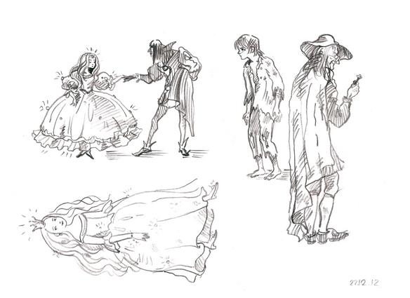 иллюстрации карандаш