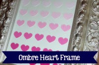 Ombre Heart Frame