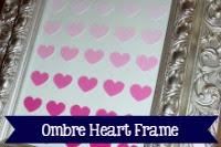 Ombre Heart Frame