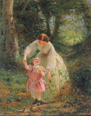 George Elgar Hicks - Woman's Mission