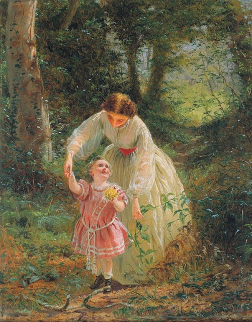 George Elgar Hicks - Woman's Mission