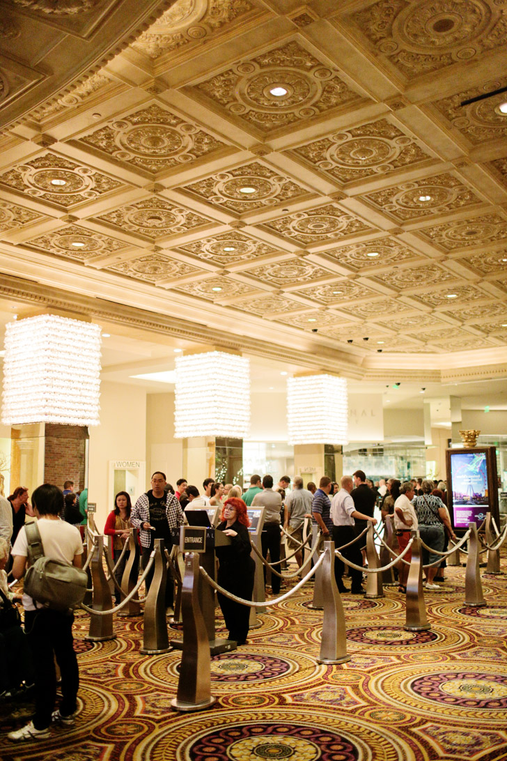 Bacchanal Buffet at Caesars Palace (Best Buffets in Las Vegas).