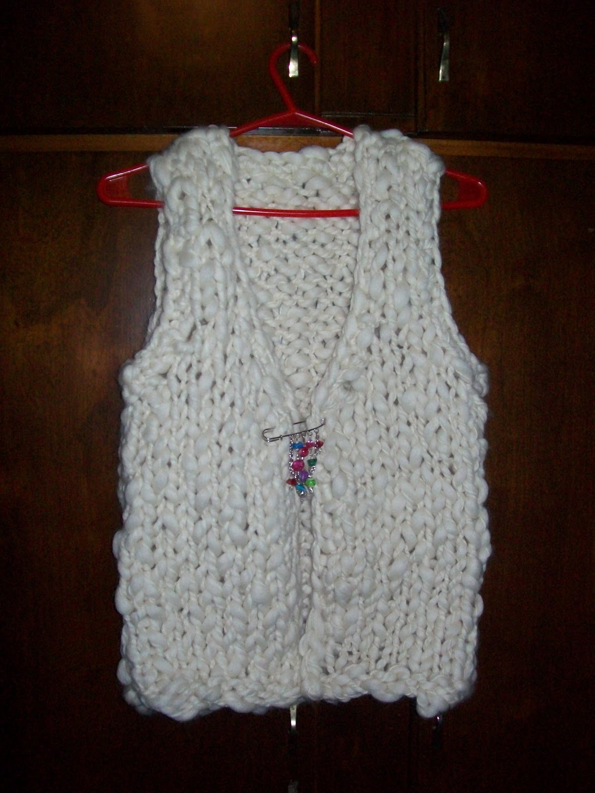 Chalecos tejidos a palillos en lana gruesa imagui - Lana gruesa para tejer ...