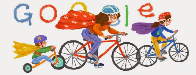 happy mother's day google doodle