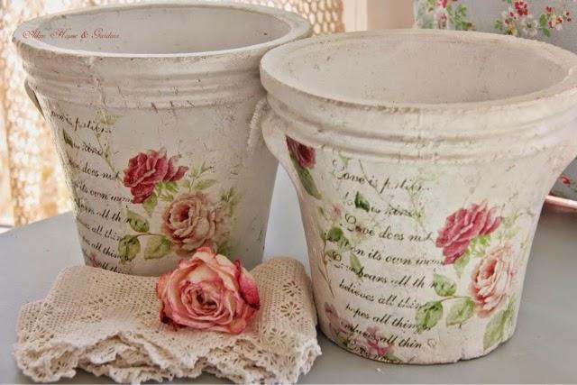 Decoupage la forma de decorar sin saber dibujar la for Decoupage con servilletas en muebles