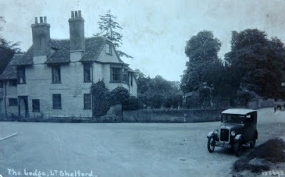 The Lodge, Bridge Lane, Little Shelford (formerly part of Little Shelford Old Hall, demolished in 1851)