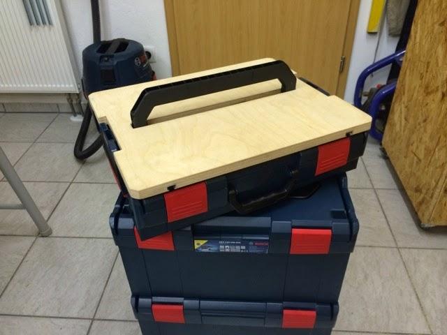 HolzwurmTom.de: Mobiler Werktisch für die L-Boxx (Inkl. Video)
