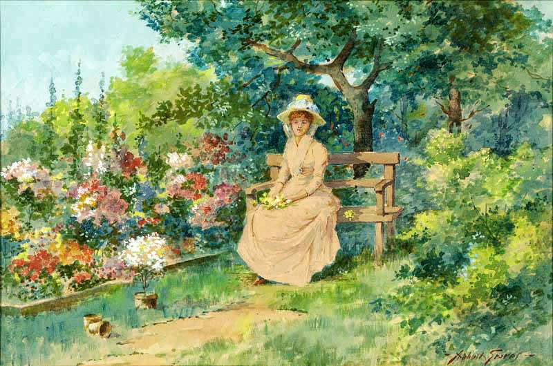Abbott Fuller Graves - End Of The Garden