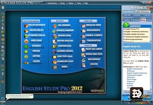 English Study Pro 2012 FullCrack – Phần mềm học tiếng anh
