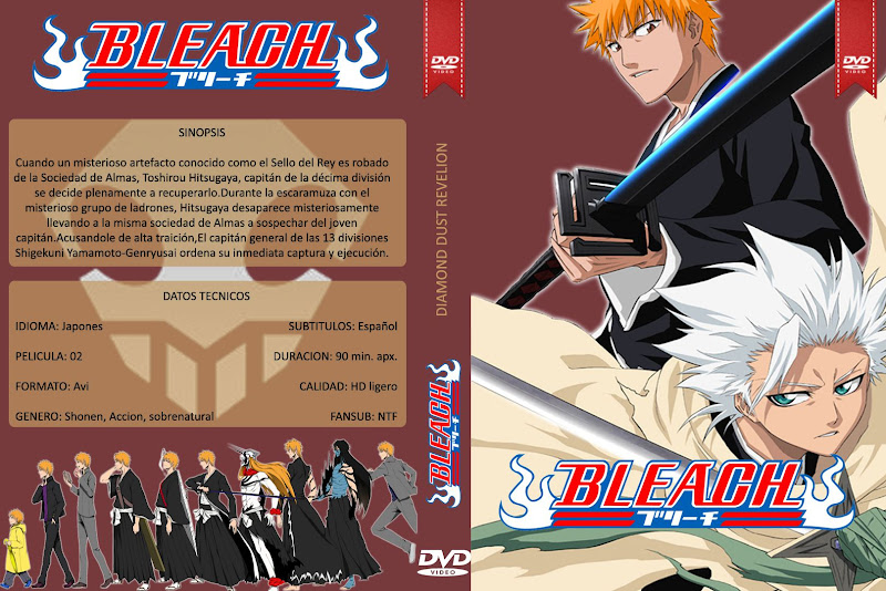 Capa DVD Bleach Diamond Dust Revelion