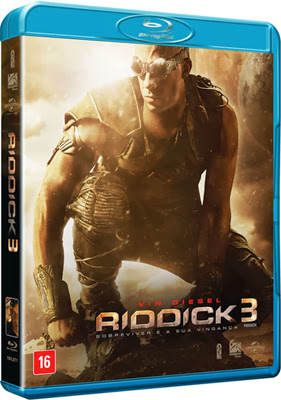 Filme Poster Riddick 3 BDRip XviD Dual Audio & RMVB Dublado