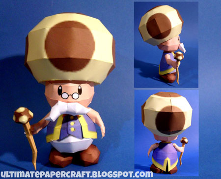 Toadsworth Papercraft