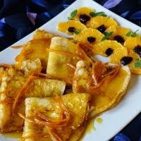 suzette-naleśniki z sosem pomarańczowym